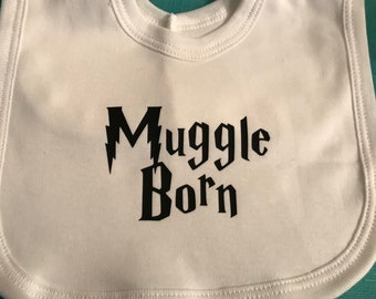 Harry Potter inspired Pop-over Bib