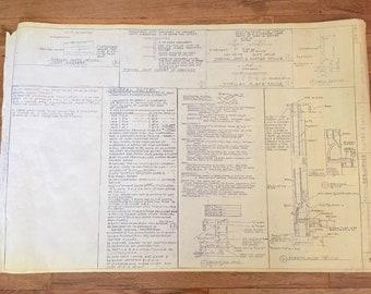 Vintage Architectural Plans
