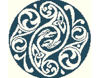 Celtic Animorph Cross Stitch Pattern - Digital Download