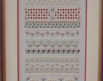 Dreams - a beautiful counted thread sampler chart only
