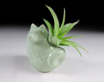 Celadon Glaze Year of the Dog Toothpick Holder, Koedo