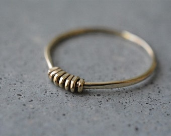 14k delicate ring, 14k gold stackable ring, 14k gold band, delicate gold ring, minimalist ring, solid gold, wedding ring, engagement ring