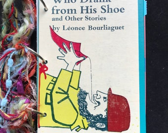 Junk Journal, Art Journal, Scrapbook, Smash Book made with vintage children's book cover