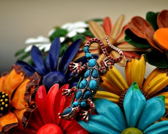 CUSTOM Vintage ANIMAL Accented Wedding Brooch Bouquet - to fit your style, budget & colors - plus lifetime guarantee