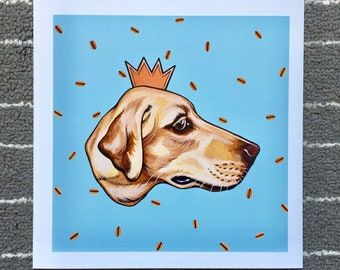 HOTDOG KING // Art Prints