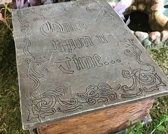 Miniature Fairy Tale / Story Book Planter