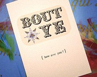 Bout Ye - Fab Irish Greetings Card