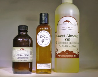 All Natural Essential Hair Care