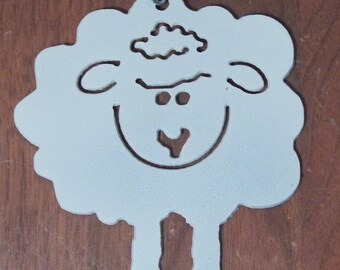 Sheep,lamb,Christmas Tree Ornament , black sheep, sheep lovers gift,lamb ornament