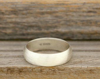 Brushed Silver Band