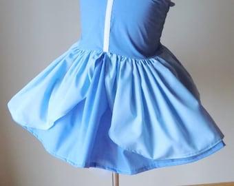 Cinderella Princess Dress, Princess Party Dress, Everyday Princess Dress, Dress Up Play,  Girl Princess Costume,  Halloween Princess Costume