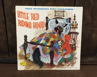 Vintage Little Red Riding Hood United Artists Record