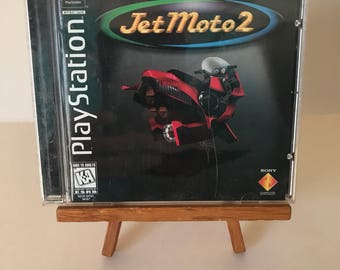 Playstation 1 1997 Jet Moto 2 Complete AUTHENTIC Video Game!