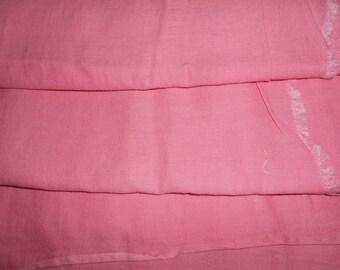 Bubble gum pink vintage feedbag/feedsack