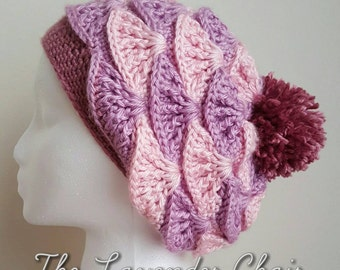 Painted in Warmth Beanie by The Lavender Chair - PDF DOWNLOAD ONLY - Instant dowload