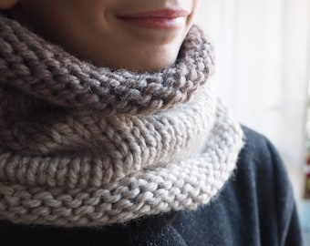 Natural colors scarf