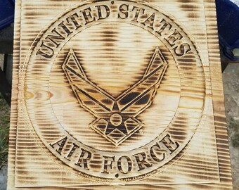 Air force carving