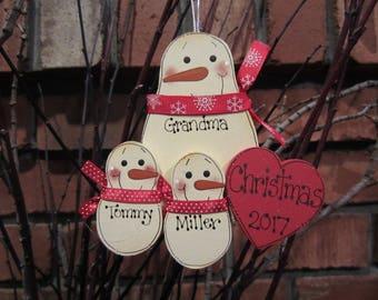 My Grandma Melts My Heart Personalized Ornament, Grandchildren Ornament, Grandparent Ornament, Personalized Grandma Ornament, Grandparent