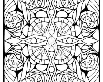 Coloring Page (Tentacles)