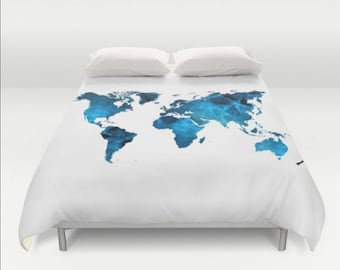 Black gold map duvet cover world map gold twin full queen king duvet cover world map blue white twin twin xl full queen king bedspread hipster bedding dorm room home apartment bed decor gumiabroncs Image collections