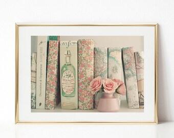 Girl nursery decor girl, blush pink decor, girl nursery wall art girl, large wall art, pink wall art, wall art canvas, framed wall art