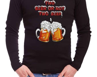 Beer t-shirt/party t-shirt/men longsleeve-Free Shipping Worldwide
