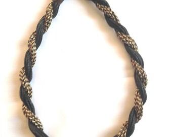 Collar African ras raffia of neck handmade handmade woven
