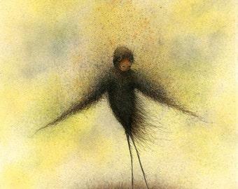 Delicate Migration - fine art reproduction