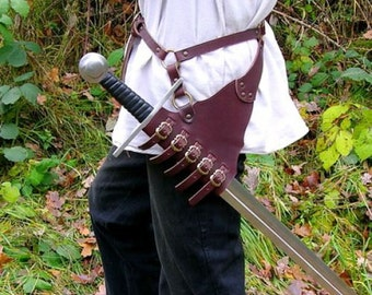 Rapier sword hamger / Baldric - [04 SGH-rap / (P)]
