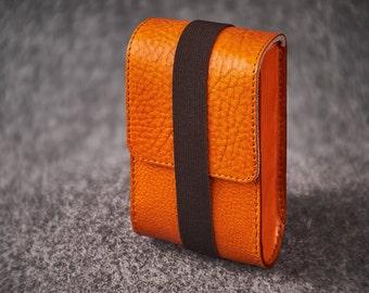 Leather Felt Camera Case Box Hand-made Ricoh GR2