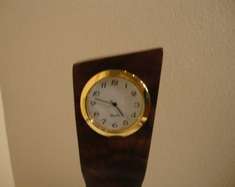 Art Deco desk Clock One of a Kind /Gifts Under 40 Dollars