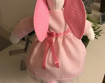 Handmade Tilda Bunny, handmade Tilda Bunny, cuddly animal