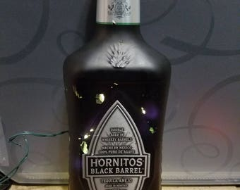 Blackout hornitos bottle light black barrel
