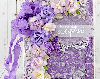 Shabby Chic For Someone So Special Friendship / Just Because Card