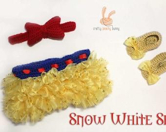 Snow White Tutu Set