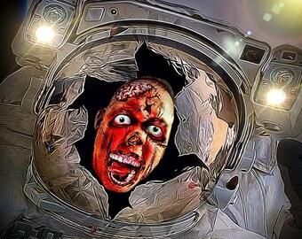 Zombienaut - Space Walker - Zombie Walking Dead Inspired