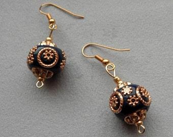 Earings Kashmiri® beads
