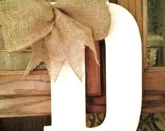 Wood Letter door hanger Monogram door letter shabby chic letter door hanger initial letter painted wood letter door hanger & Letter door hanger | Etsy