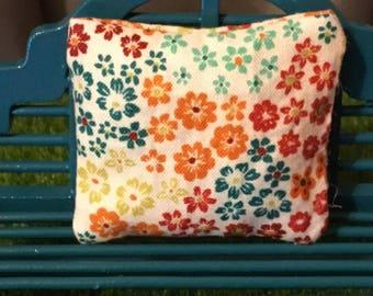 Dollhouse Miniature Floral Pillow