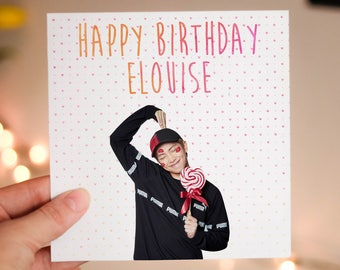 Personalised RM (BTS) Card