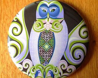 Owl Love Nest | Pocket Mirror