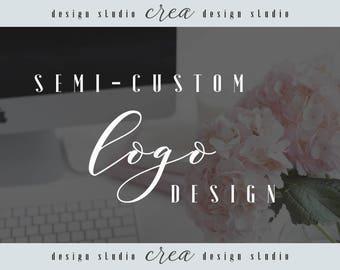 Semi- custom logo design, Custom logo, Brand design