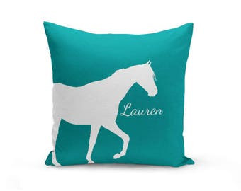 decor cover covers horse bluegorillainc pillow series products