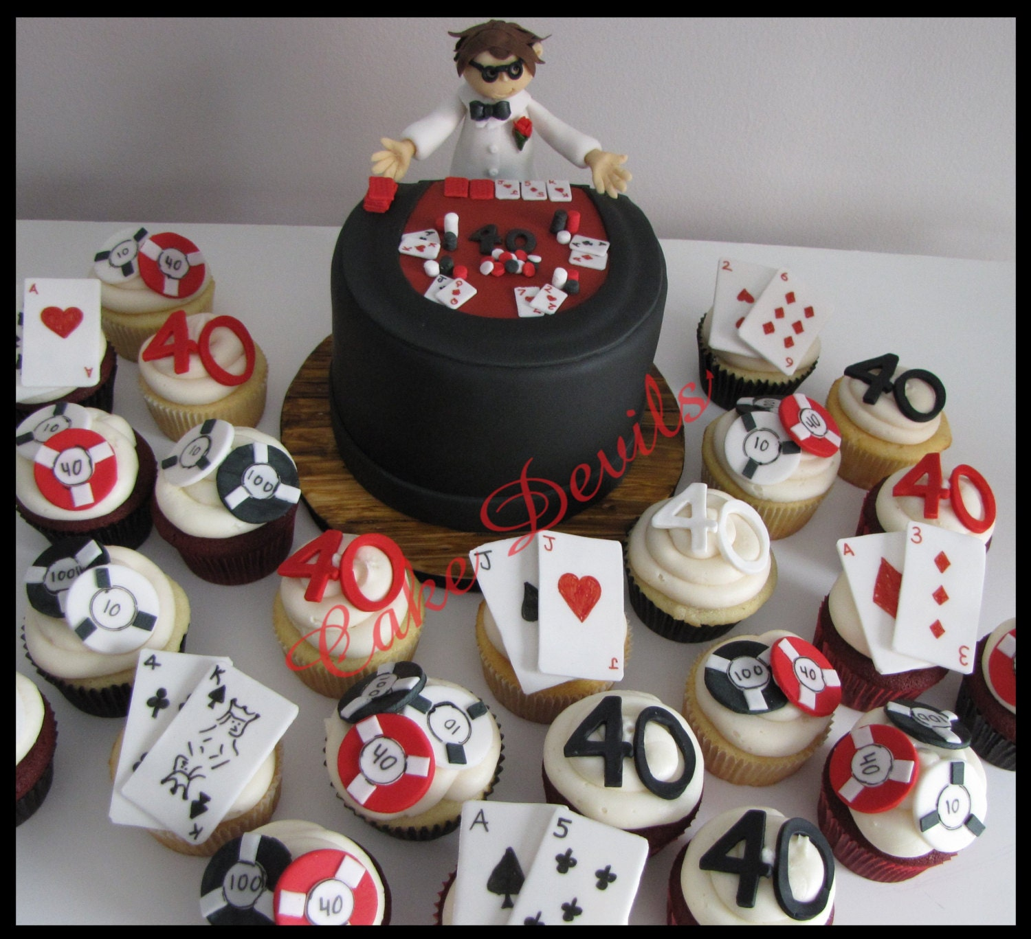 Poker chips made from fondant blackjack promotions ltd