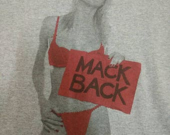 Vintage Mackdaddy Shirt USA Rare T-Shirt Mack Daddy Mack Back Deadboy Hip Hop Punk MDY Skateboard Size Large
