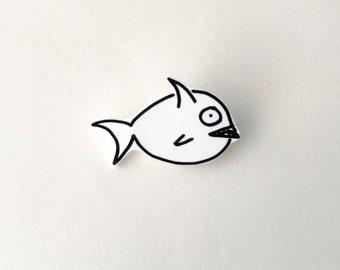 Fish Shrink Plastic Pin