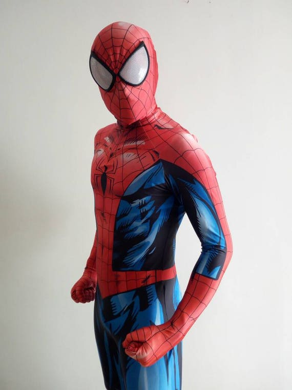 & Replica Spider-Man costume Spiderman Ultimate READ