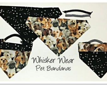 canine corner dog breeds, reversible dog scarf, dog bandana, pet scarf, pet bandana, pet attire, pet clothing, reversible, dogs