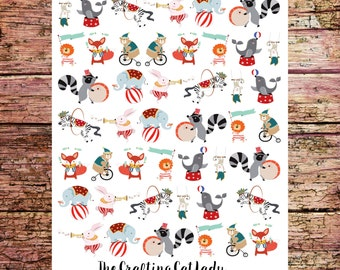Circus Planner Stickers - Small