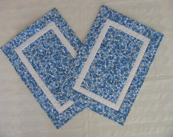 Placemats- BLUE FLOWER 2
